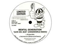 Mental Generation ‎– Cafe Del Mar (Underworld Remix) Limited Edition 1996 Vinyl LP