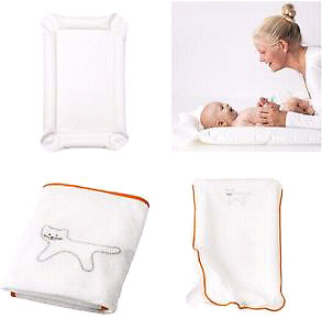 """Babycare mat and cover  from Ikea, brand new,  white, 21x32x1 """""""