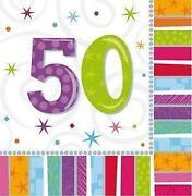 Einladungskarten Geburtstag 50