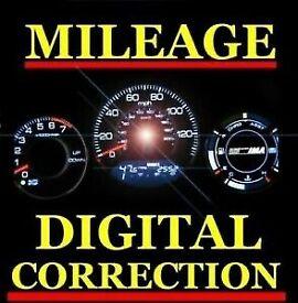 Mileage correction+diagnostics