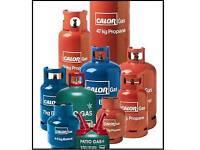 Calor Gas Bottles Blue