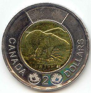 Canadian 2 Dollar Coin Ebay