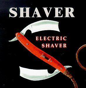 Shaver - Electric Shaver [CD]
