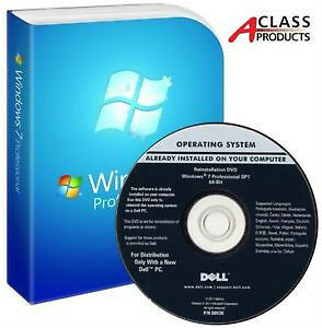 Genuine Microsoft Windows 7 Professional With SP1 64bit With COA