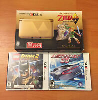 The Legend of Zelda A Link Between Worlds 3DS XL with 2 games