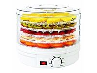 Oypla Electrical Food Dehydrator Machine with Thermostat Control