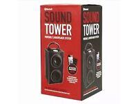 Bluetooth sound tower wireless music radio remote speaker portable NEW