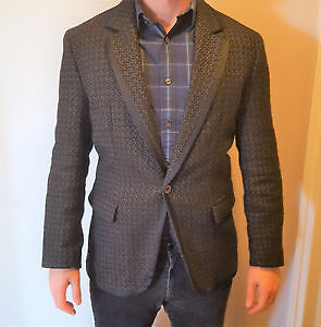 Hugo Boss Dinner/Smoking Jacket Blazer - Orange Label - 40R