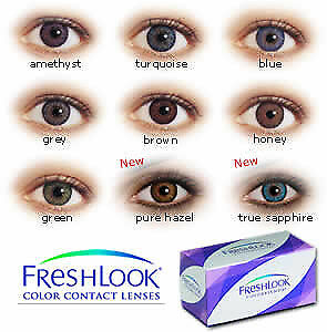 Freshlook Colorblends Sterling Grey Colored Contacts for Better