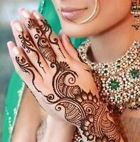 Henna Tattoo or Mehndi for Wedding and Parties