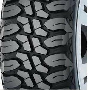 NEW ALL TERRAIN, RUGGED TERRAIN, MUD TERRAIN TIRES. CHEAP PRICES
