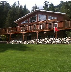 Beautiful home on 5 acres near Kootenay Lake, Creston BC