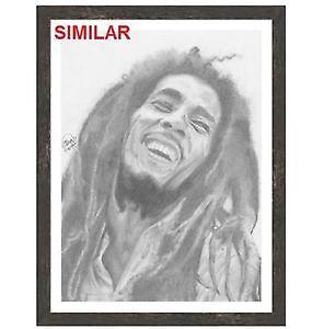 "Bob Marley Print  - FRAME IS 57.25"" x 44.75"