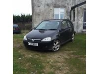 REDUCED Vauxhall Corsa 1.8i 16v SRI 3dr 2005 good condition