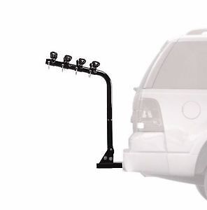Bike rack carrier for up to 4 bikes hitch mount type