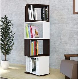 Contemporary rotating bookcase for sale