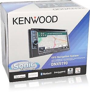 "!!!WOW!!! Kenwood 6.1"" double din navigation system"