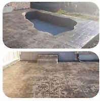SPRING IS HERE GET YOUR CONCRETE QUOTE