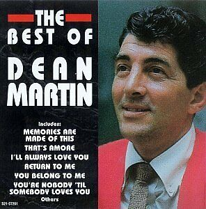 "DEAN MARTIN ""THE BEST OF"" BRAND NEW FACTORY WRAPPED CD"