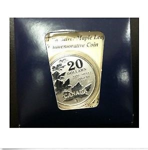 2011 20 for 20 Silver Maple coin with card Cambridge Kitchener Area image 1