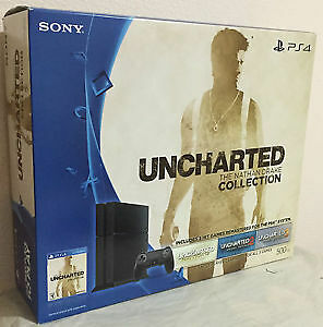 PS4 Uncharted Collection bundle. (System+game)