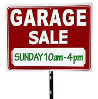 GARAGE SALE !!! (Westmount)