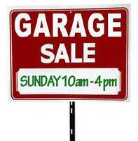 GARAGE SALE !!! (Westmount)
