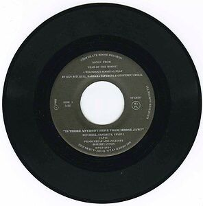 Is There Anybody Here From Moose Jaw? 45 rpm record. Moose Jaw Regina Area image 2