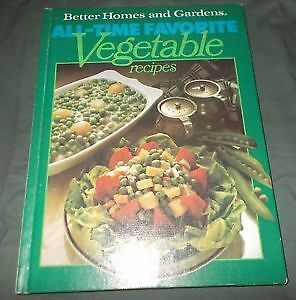 ALL-TIME FAVOURITE VEGETABLE RECIPES - COOKBOOK!