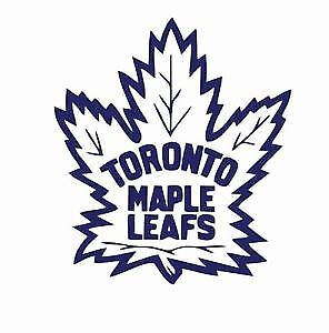 Toronto Maple Leafs All Home Game Platinum & Green Hard Tickets