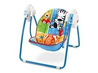 Fisher-Price Friendly First Take Along Swing.