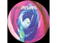Solar Quest ‎– Acid Brain EP 1994 Vinyl LP