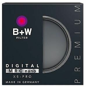 Filtre B+W 77mm XS-Pro Clear UV Haze Filter with Multi-Resistant