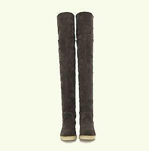 2d858c32bd7e3 Flat Over The Knee Boots | eBay
