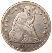 Seated Liberty Dollar