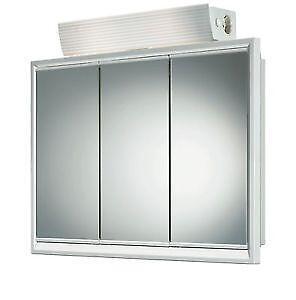 spiegelschrank kunststoff schr nke wandschr nke ebay. Black Bedroom Furniture Sets. Home Design Ideas