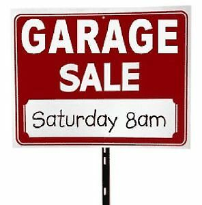 GIANT GARAGE SALE! LOW PRICES!