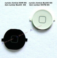 White/Black New Home Button Keypad Key For iPhone 4GS 4S