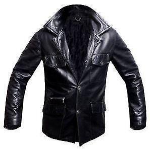 Men s Versace Leather Jackets 2b2fd9b12290d