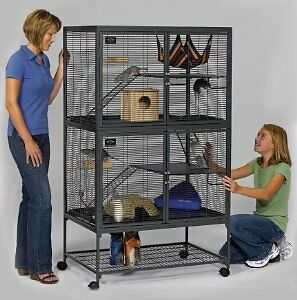 CRITTER NATION DOUBLE UNIT CAGE
