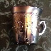 Carnival Glass Mug