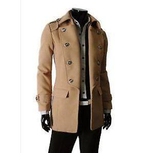 f85b6b40316 Men s Long Wool Winter Coat