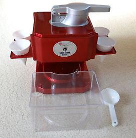 Ice Cone Slush Machine (used Twice)