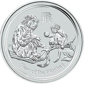 ON SPECIAL - Silver Perth Mint Year of the Monkey Coin 2016