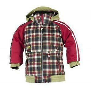 Men Vine Kinaw Jacket Buffalo Plaid Cruiser Coat 80s Wool Fleece Red Black Cing Lumberjack