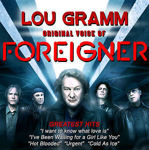 Foreigner's Lou Gramm July 25th great floor tickets
