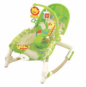 Fisher Price Newborn-to-Toddler Portable Rocker - Rainforest