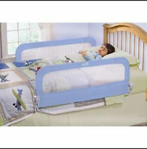 kids safety bed rails- for both sides of bed -like new