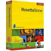 Rosetta Stone Farsi, French, English