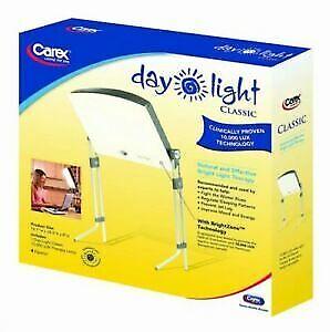 New in Box CAREX Light  Mood Enhancing Desk Lamp/ Floor Lamp SAD